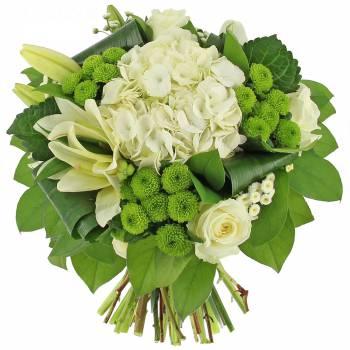 Bouquet de fleurs - Le bouquet Blanc