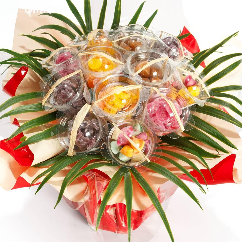 Livraison bouquet de bonbons d 39 autrefois 9 paniers for Livraison bouquet de fleurs kenitra