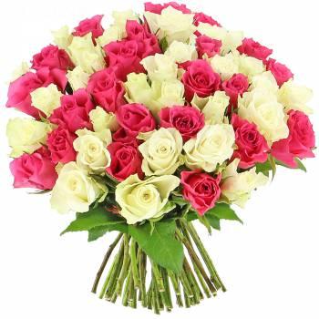 Bouquet de roses - Roses Bonheur