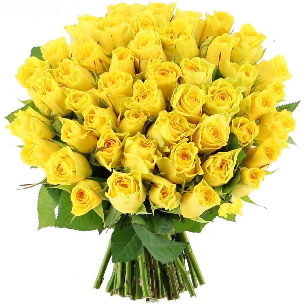 Livraison roses summer 25 roses bouquet de roses for Bouquet de fleurs jaunes