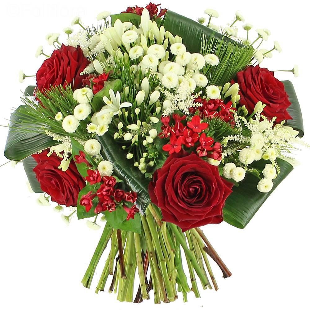 livraison bouquet sensation bouquet de fleurs foliflora. Black Bedroom Furniture Sets. Home Design Ideas
