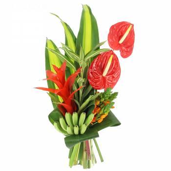 Bouquet de fleurs - Le bouquet Tropical