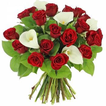 Bouquet de fleurs - Charme et Élégance