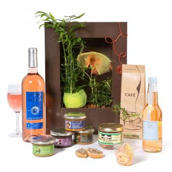Pack cadeau - Côté Sud - Panier Gourmand