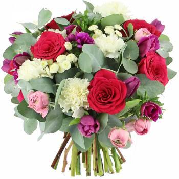 Bouquet de fleurs - Tendres Pensées
