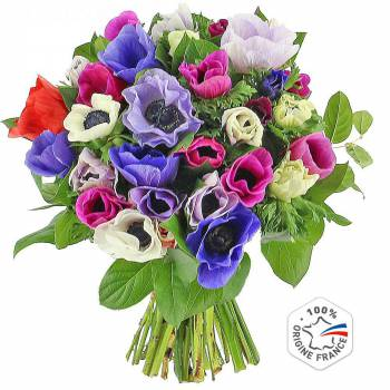 Bouquet of flowers - Anemones