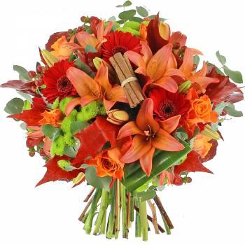 Bouquet de fleurs - Douceur d'Automne