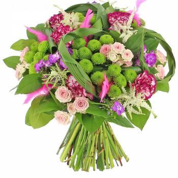 Bouquet de fleurs - Coquette