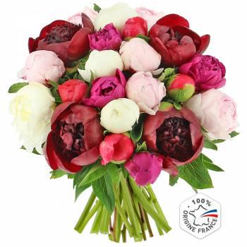 Bouquet de fleurs - Bouquet de Pivoines