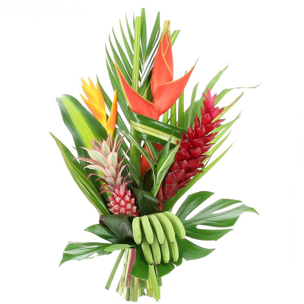 Livraison bouquet exotique bouquet de fleurs foliflora for Bouquet de fleurs pas cher livraison gratuite