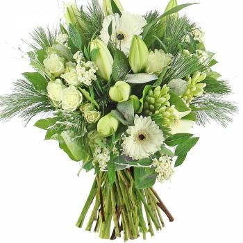 Bouquet de fleurs - Le bouquet Neige