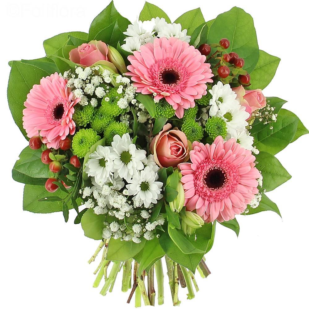 Livraison bouquet de l a bouquet de fleurs foliflora for Bouquet de fleurs pour 70 ans