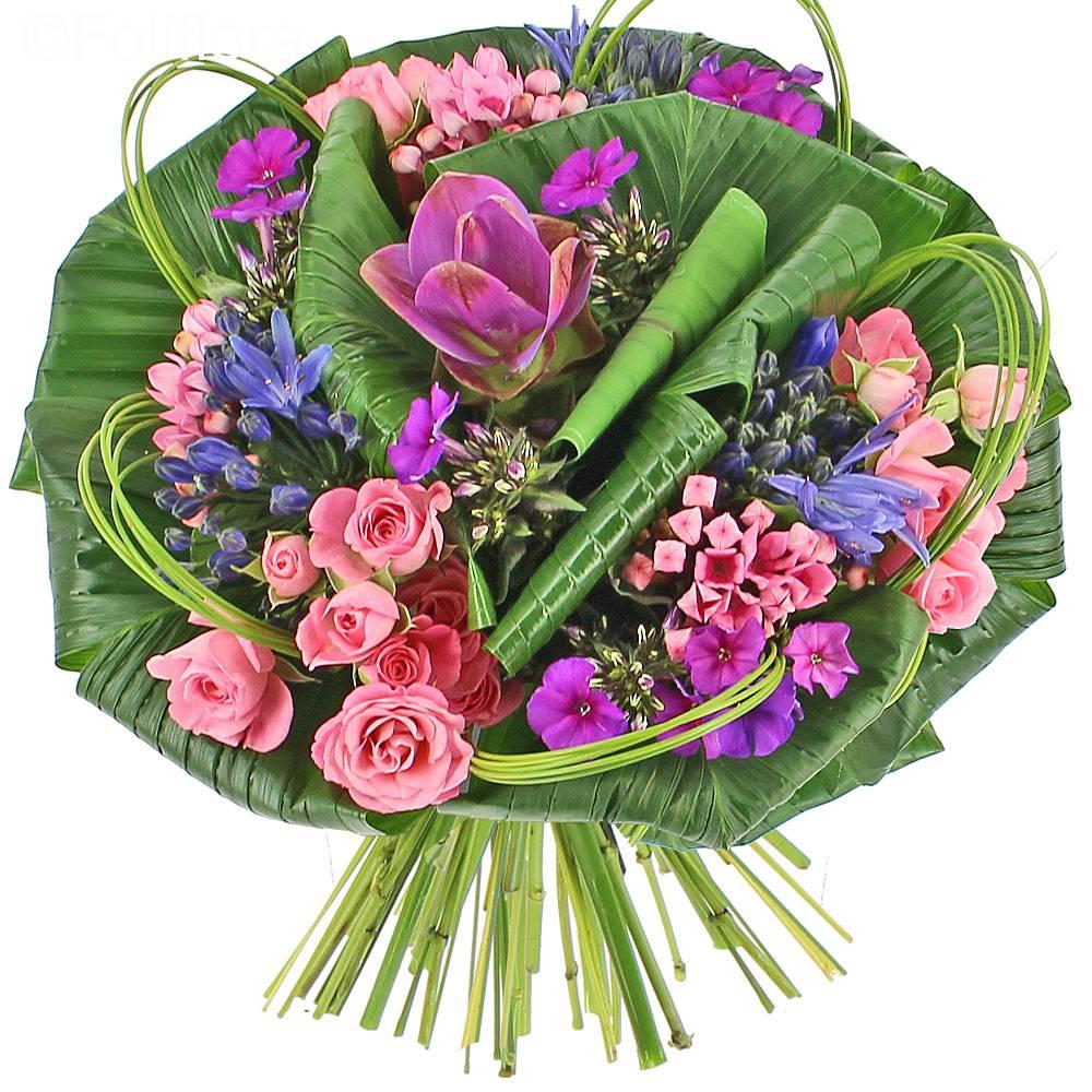 Livraison bouquet mademoiselle bouquet de fleurs foliflora for Bouquet livraison