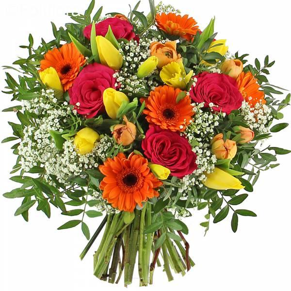 livraison douceur du printemps bouquet de fleurs foliflora. Black Bedroom Furniture Sets. Home Design Ideas