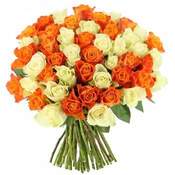 Livraison express : Roses Tonic - 25 Roses
