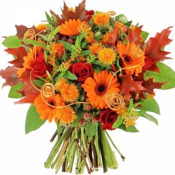 Bouquet de fleurs - Couleurs d'Automne