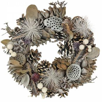 Plante fleurie - Couronne Christmas