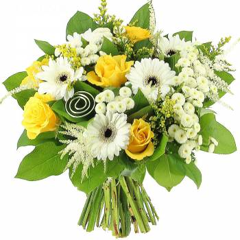 Bouquet de fleurs - Golden