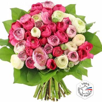 Bouquet de fleurs - Merveilleuses Renoncules