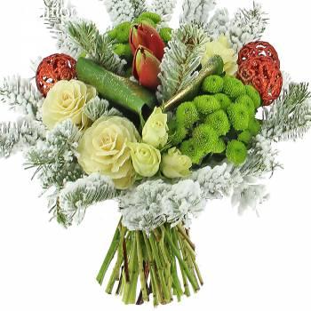 Bouquet de fleurs - Noël Chic et Elégant