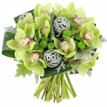 livraison bouquet d 39 orchid es cymbidium bouquet de fleurs foliflora. Black Bedroom Furniture Sets. Home Design Ideas