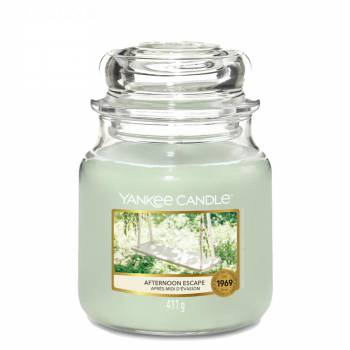 Envoi express : Bougie Yankee Candle - Afternoon Escape - Petite Jarre (104g)